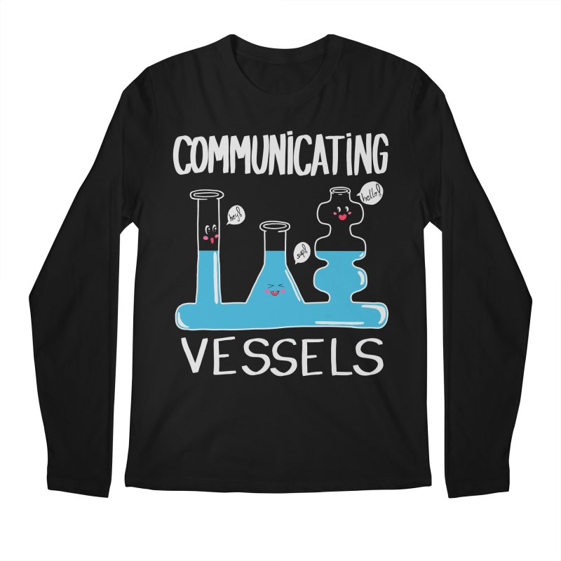 Communicating Vessels Men's Regular Longsleeve T-Shirt by Hello Siyi
