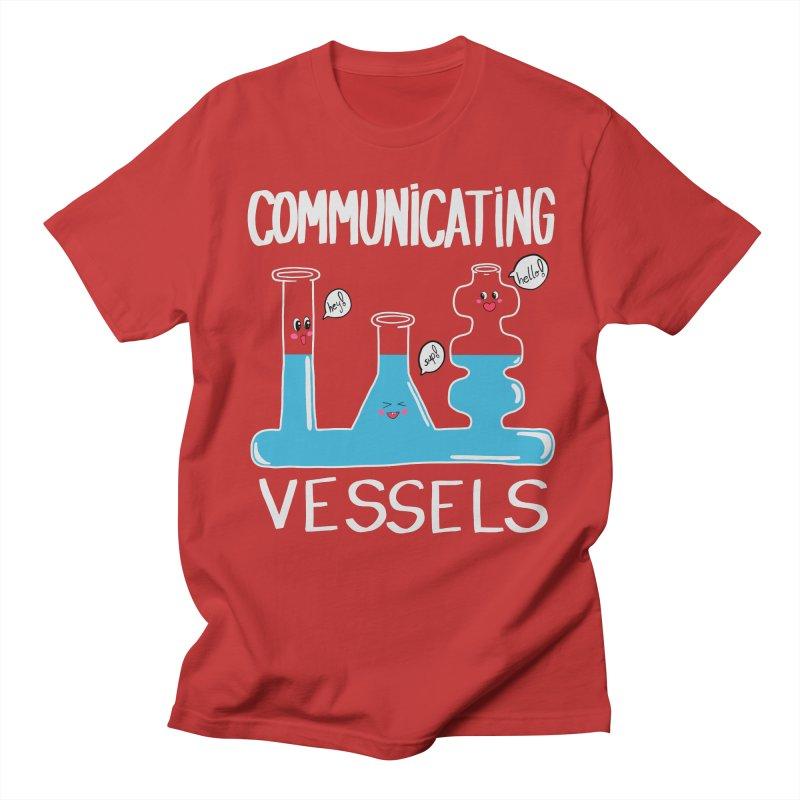Communicating Vessels Men's Regular T-Shirt by Hello Siyi