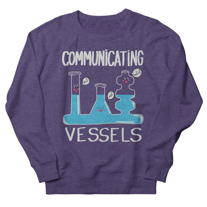 Communicating Vessels Women's French Terry Sweatshirt by Hello Siyi