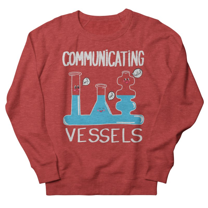 Communicating Vessels Men's French Terry Sweatshirt by Hello Siyi