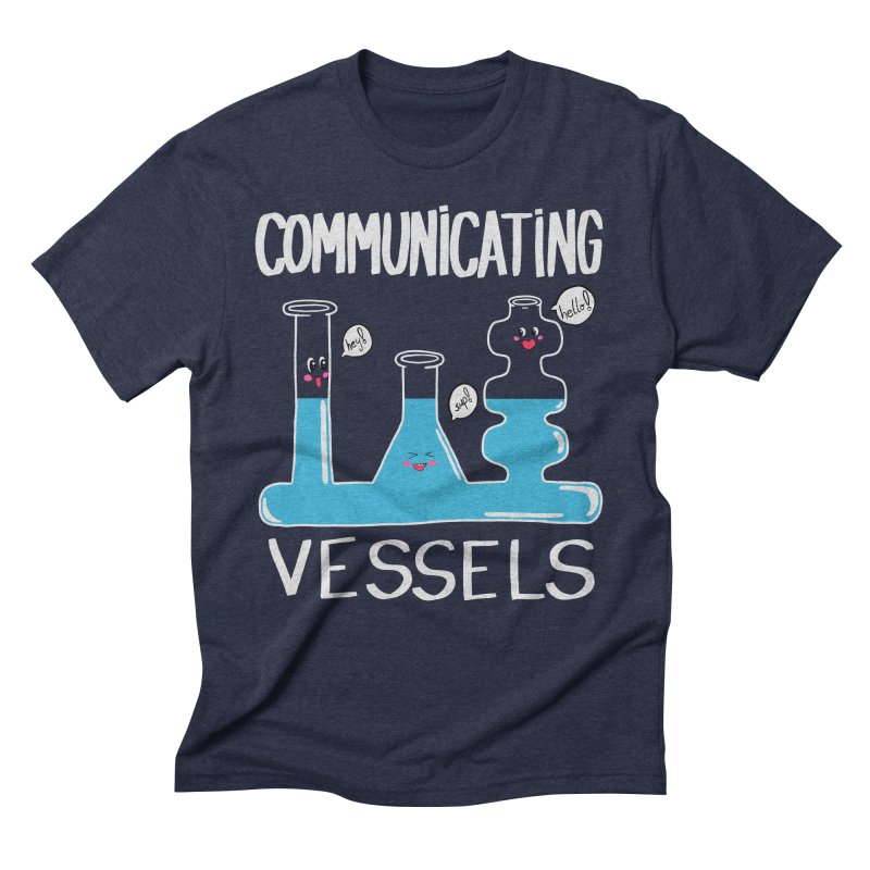 Communicating Vessels Men's Triblend T-Shirt by Hello Siyi