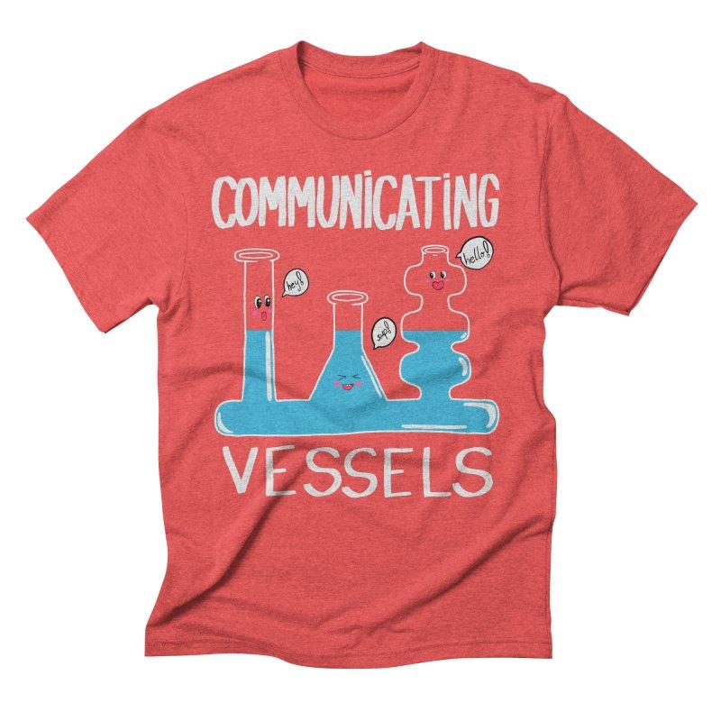 Communicating Vessels Men's Triblend T-Shirt by Hello Siyi