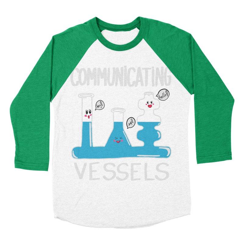 Communicating Vessels Women's Baseball Triblend Longsleeve T-Shirt by Hello Siyi