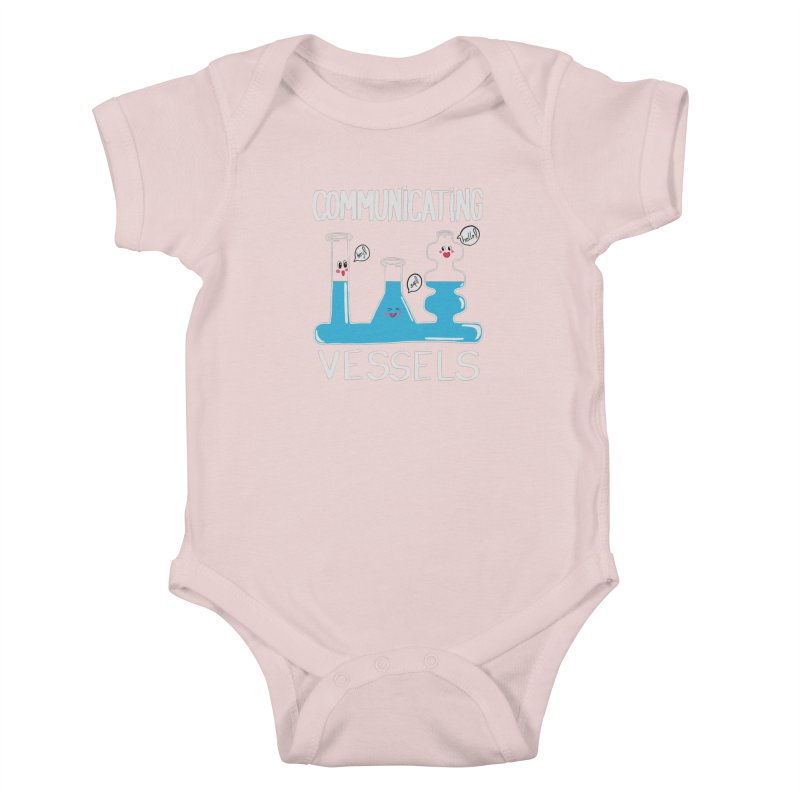 Communicating Vessels Kids Baby Bodysuit by Hello Siyi