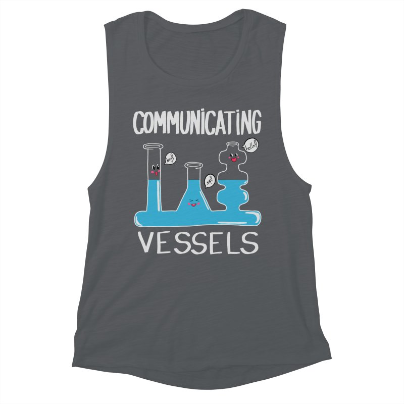 Communicating Vessels Women's Muscle Tank by Hello Siyi