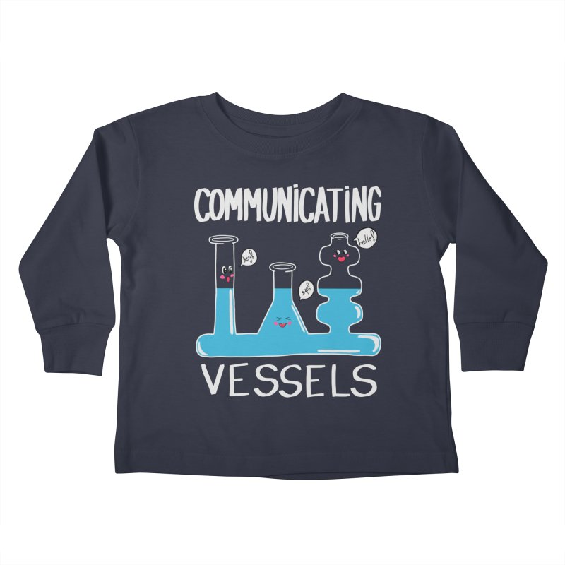 Communicating Vessels Kids Toddler Longsleeve T-Shirt by Hello Siyi