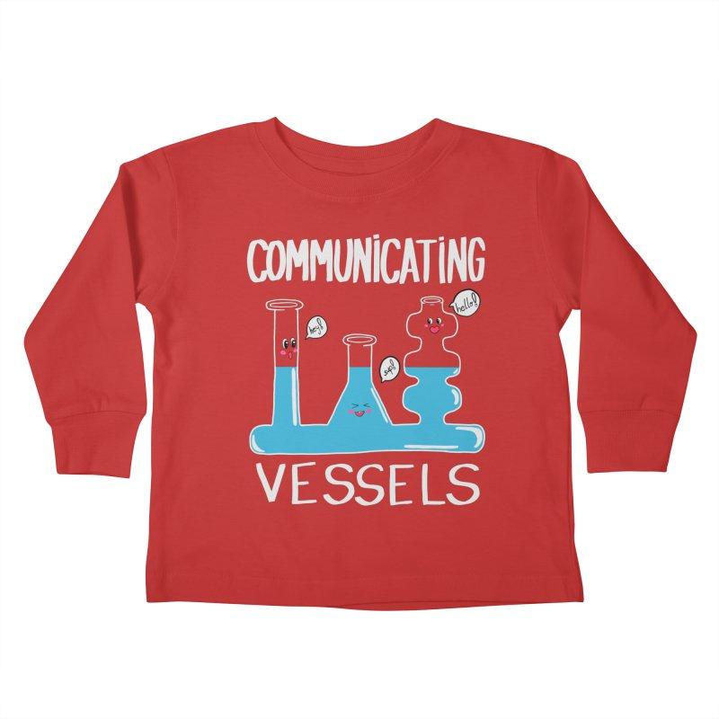 Communicating Vessels Kids Toddler Longsleeve T-Shirt by Hello Siyi
