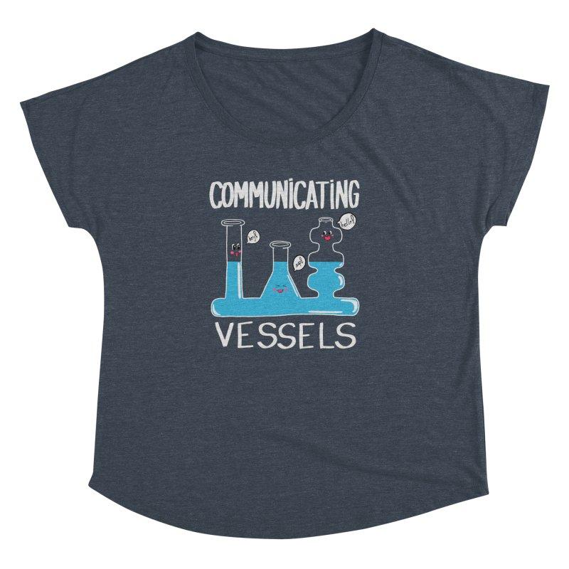 Communicating Vessels Women's Dolman Scoop Neck by Hello Siyi