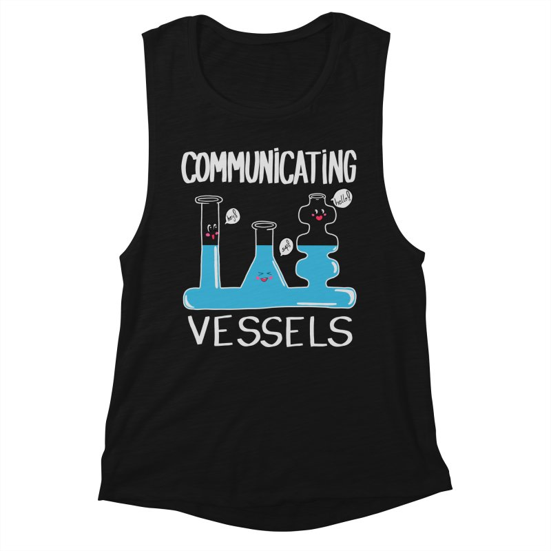 Communicating Vessels Women's Muscle Tank by Hello Siyi