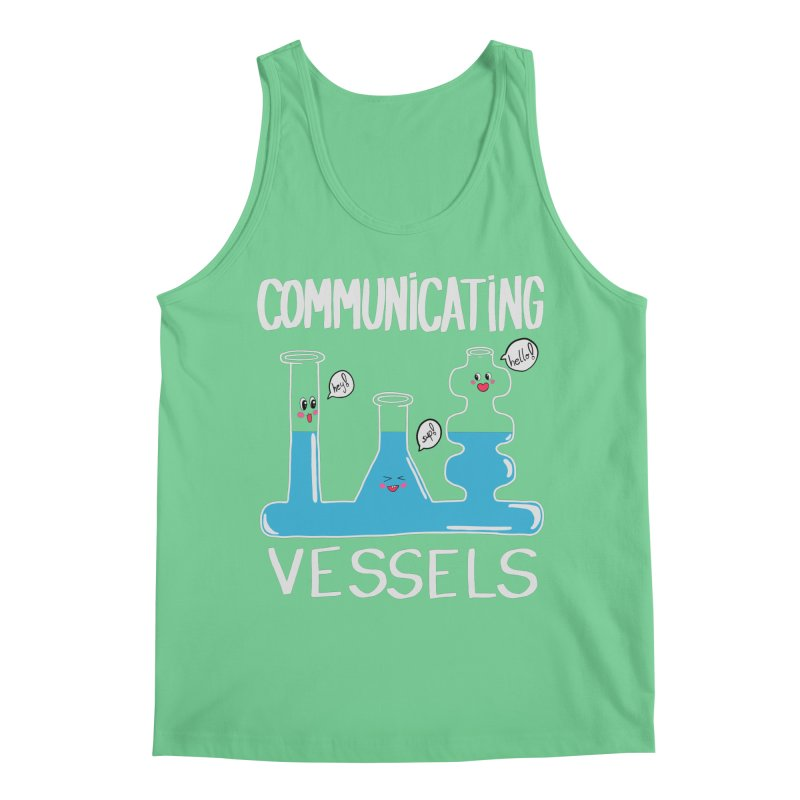 Communicating Vessels Men's Regular Tank by Hello Siyi