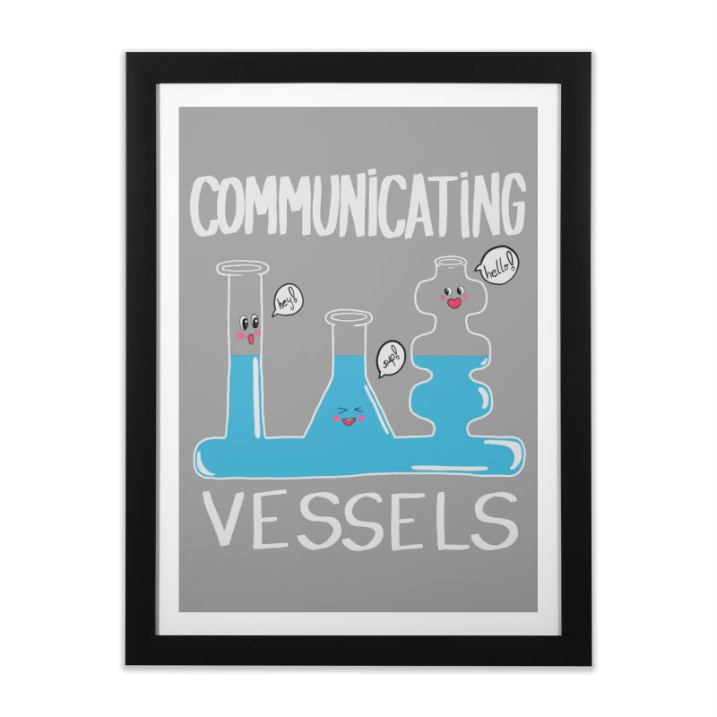 Communicating Vessels Home Framed Fine Art Print by Hello Siyi