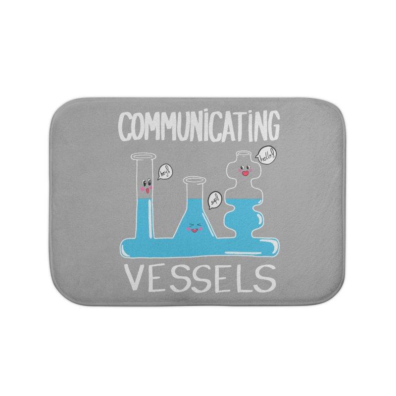 Communicating Vessels Home Bath Mat by Hello Siyi