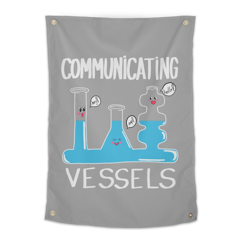 Communicating Vessels Home Tapestry by Hello Siyi