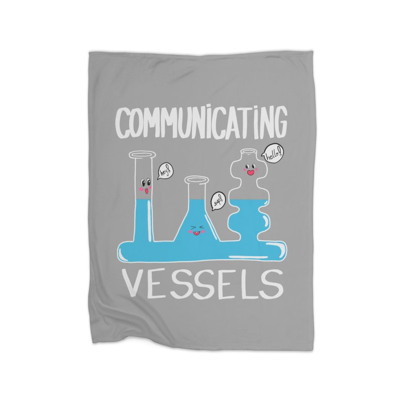Communicating Vessels Home Fleece Blanket Blanket by Hello Siyi