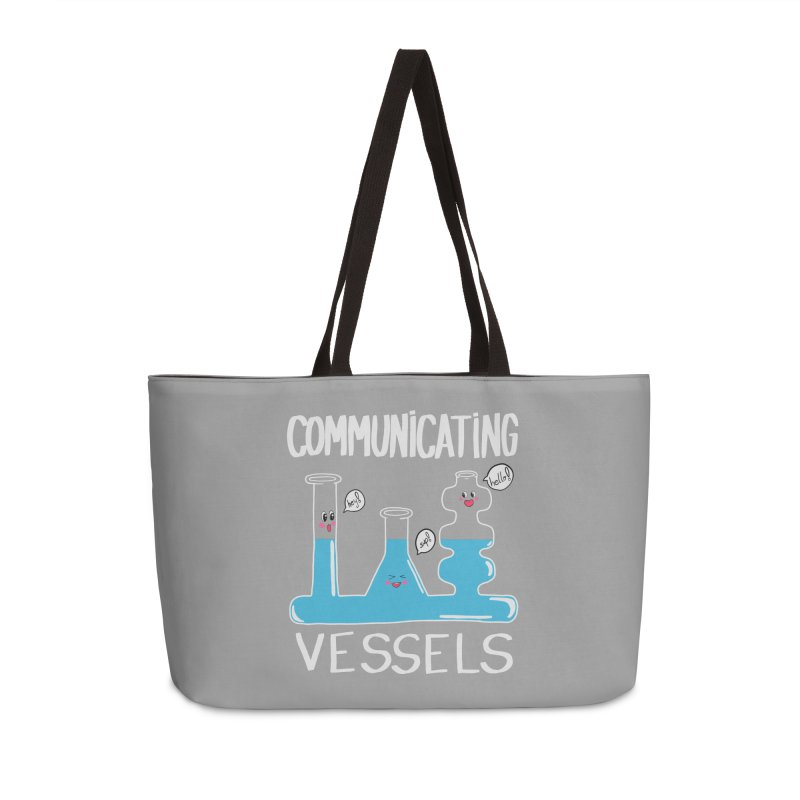 Communicating Vessels Accessories Weekender Bag Bag by Hello Siyi