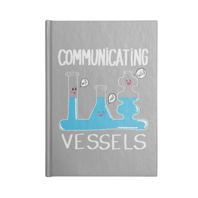 Communicating Vessels Accessories Lined Journal Notebook by Hello Siyi