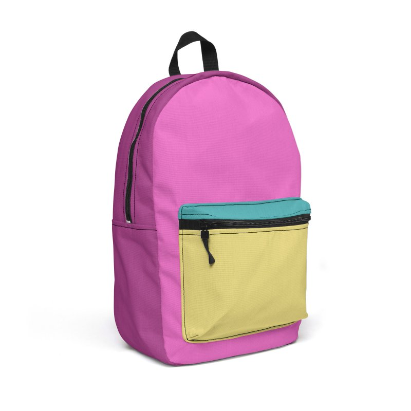 Color Block #2 in Backpack by Hello Siyi