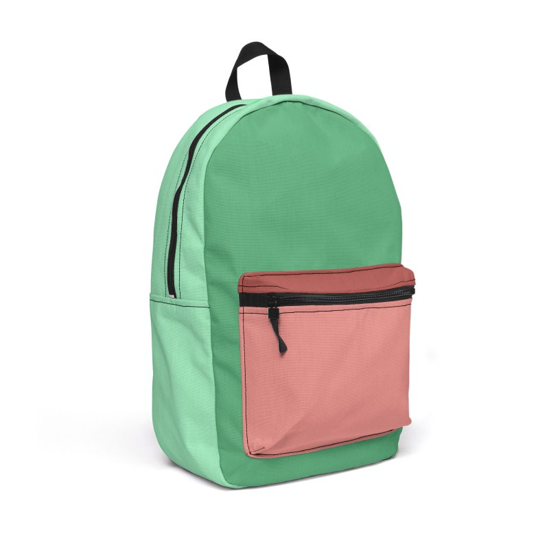 Color Block #5 Accessories Backpack Bag by Hello Siyi