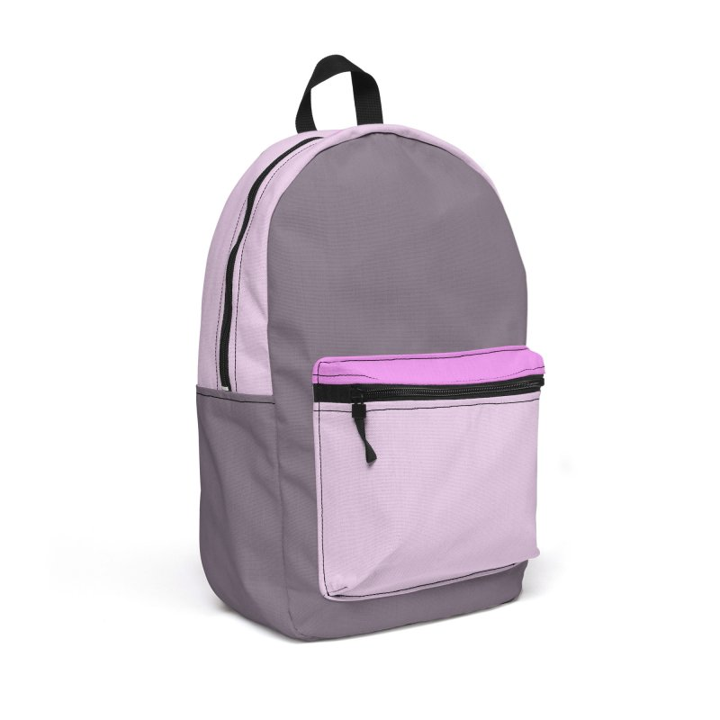 Color Block #1 Accessories Backpack Bag by Hello Siyi