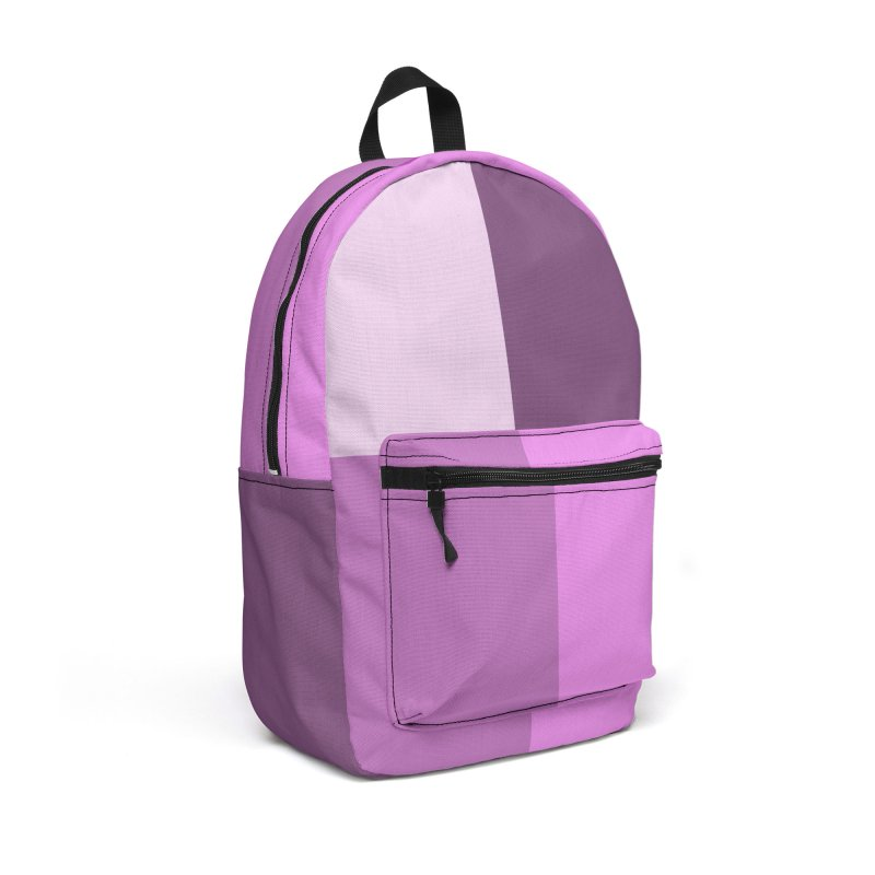 Color Block #7 Accessories Backpack Bag by Hello Siyi
