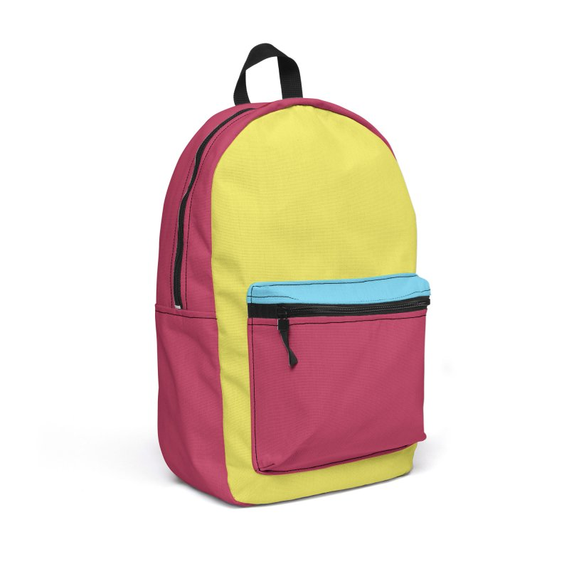 Color Block #8 Accessories Backpack Bag by Hello Siyi