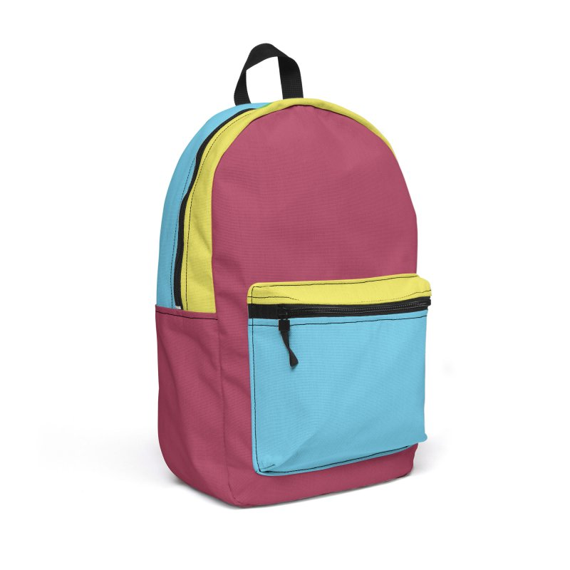 Color Block #9 Accessories Backpack Bag by Hello Siyi