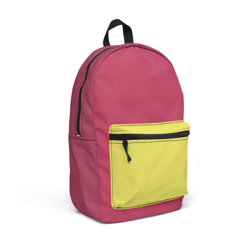 Color Block #10 Accessories Backpack Bag by Hello Siyi