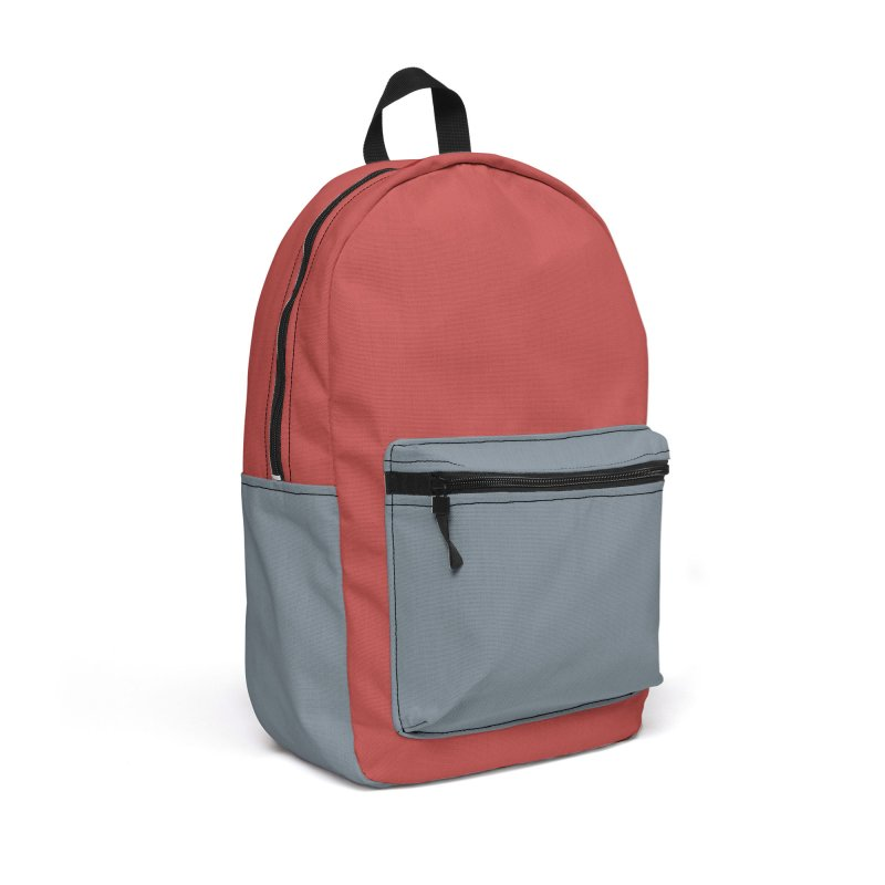 Color Block #12 Accessories Backpack Bag by Hello Siyi