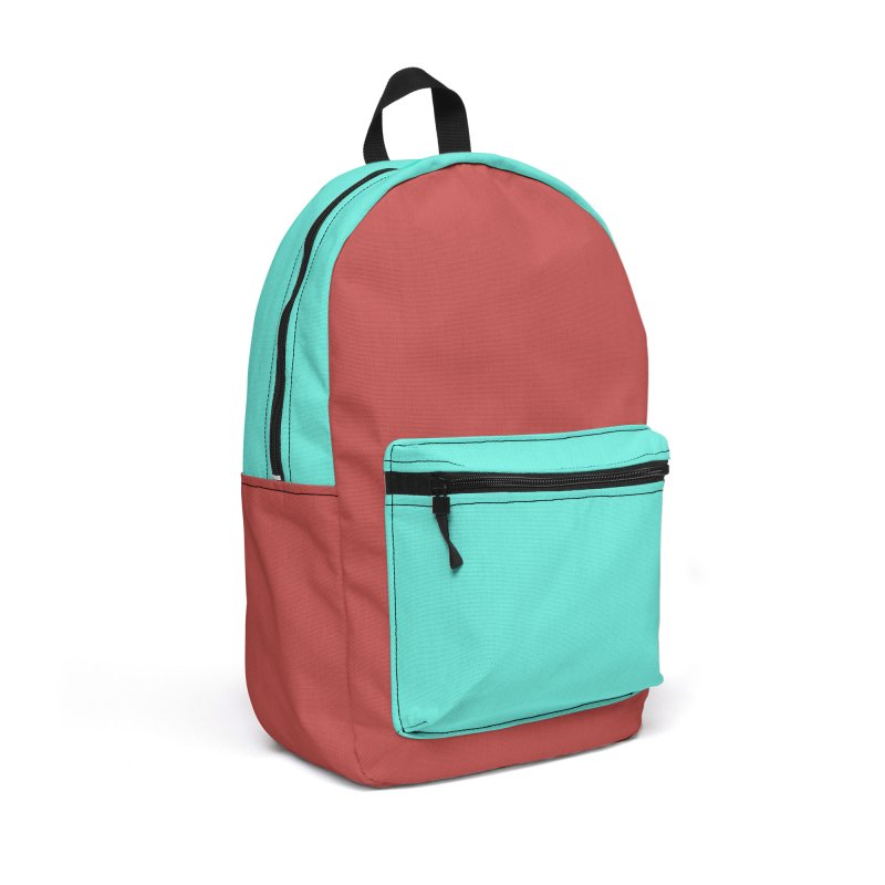 Color Block #13 Accessories Backpack Bag by Hello Siyi
