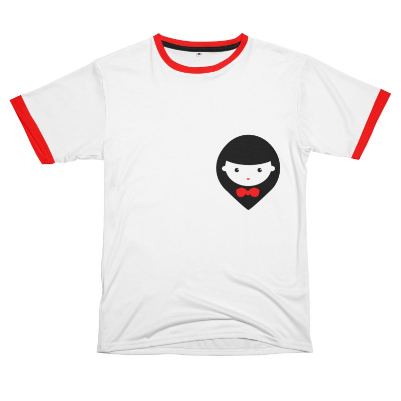 Doll (pocket) Men's T-Shirt Cut & Sew by Hello Siyi