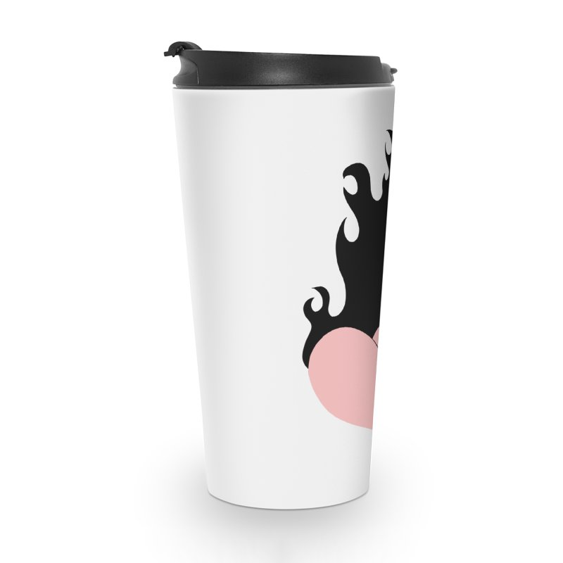 Burning heart Accessories Travel Mug by Hello Siyi