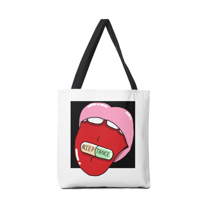 Acceptance pill Accessories Tote Bag Bag by Hello Siyi
