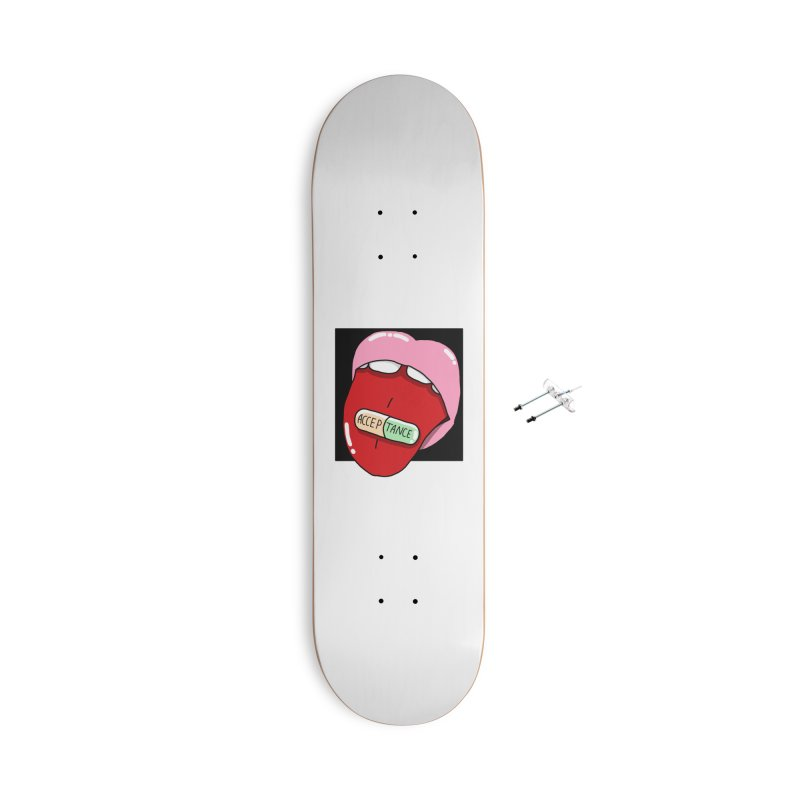 Acceptance pill Accessories With Hanging Hardware Skateboard by Hello Siyi