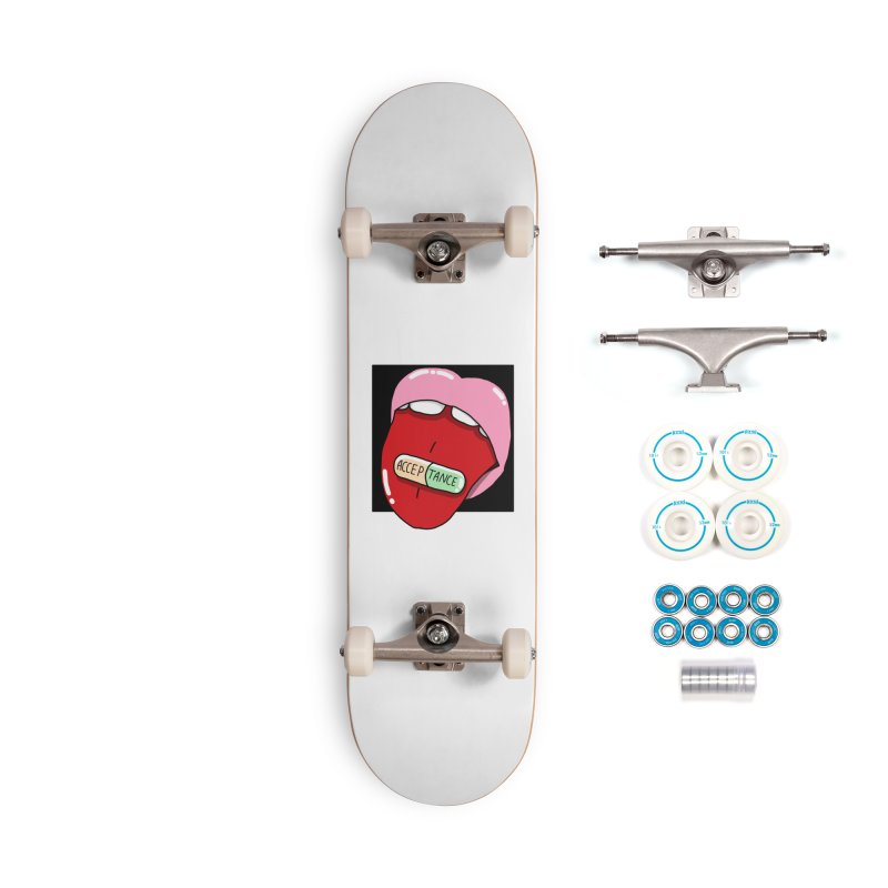 Acceptance pill Accessories Skateboard by Hello Siyi