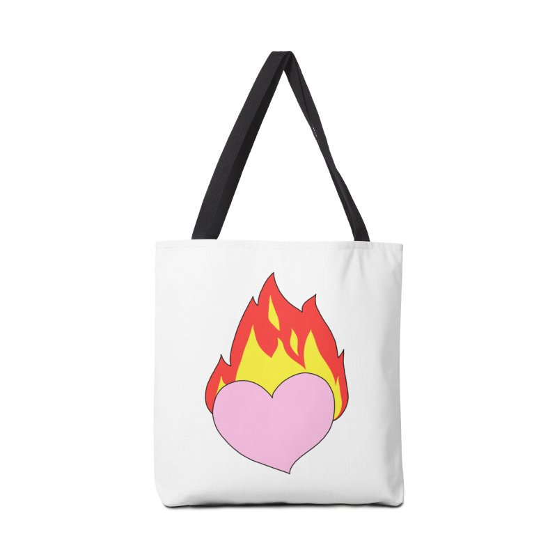 Fiery heart Accessories Bag by Hello Siyi
