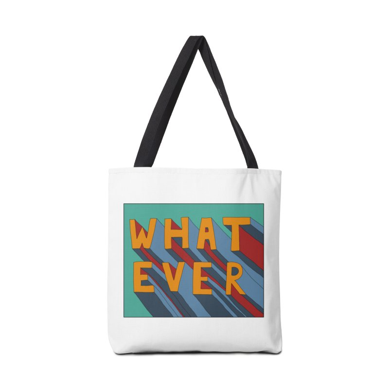 Whatever Accessories Tote Bag Bag by Hello Siyi