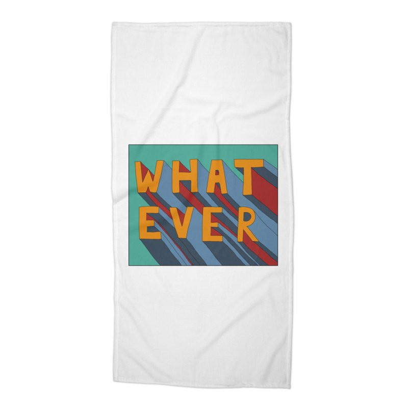 Whatever Accessories Beach Towel by Hello Siyi