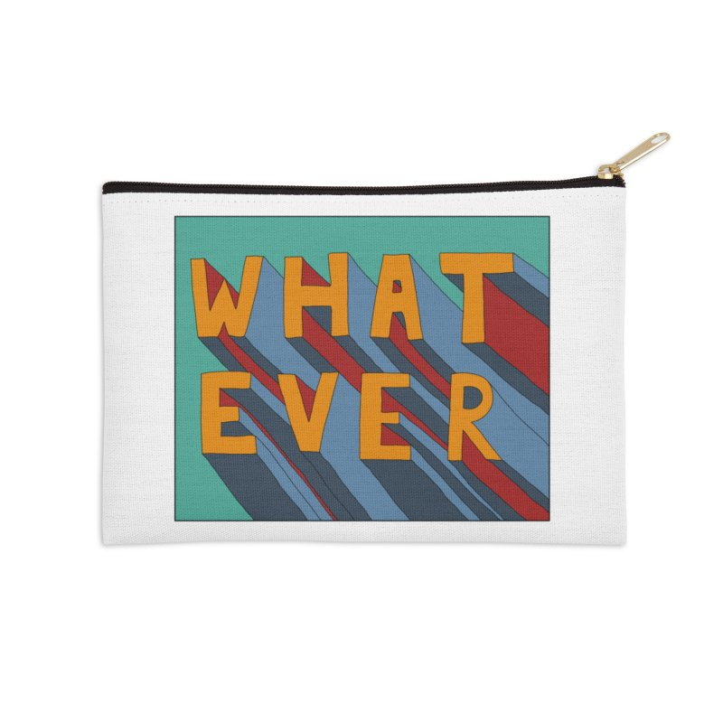 Whatever Accessories Zip Pouch by Hello Siyi