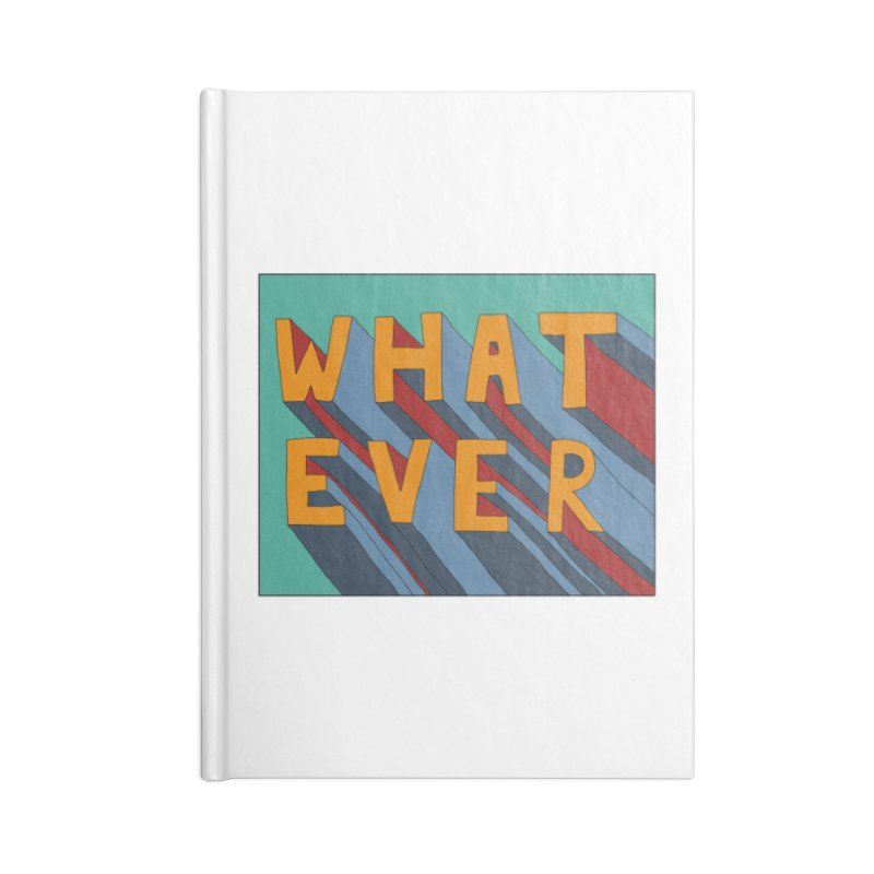 Whatever Accessories Lined Journal Notebook by Hello Siyi