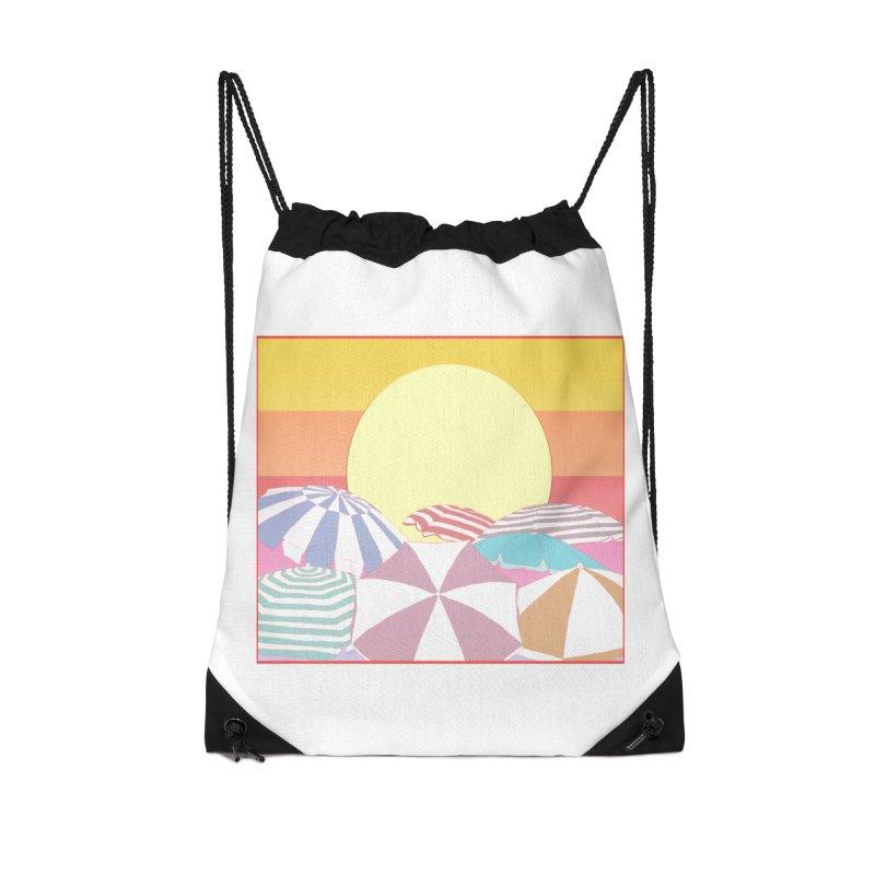 Summer parasols Accessories Drawstring Bag Bag by Hello Siyi