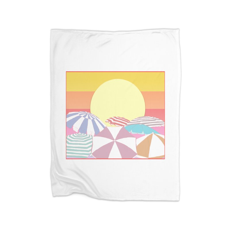 Summer parasols Home Blanket by Hello Siyi