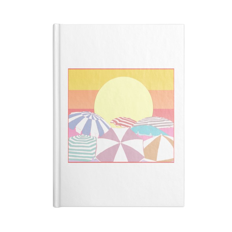 Summer parasols Accessories Lined Journal Notebook by Hello Siyi