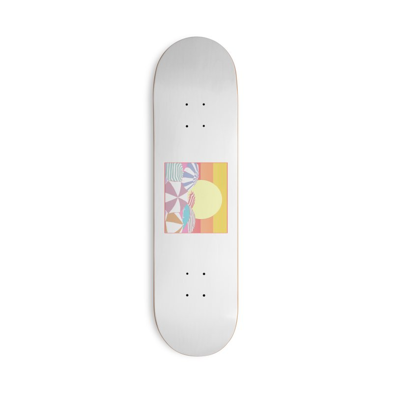 Summer parasols Accessories Deck Only Skateboard by Hello Siyi