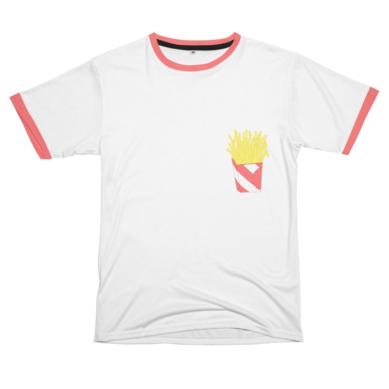Fries Men's T-Shirt Cut & Sew by Hello Siyi