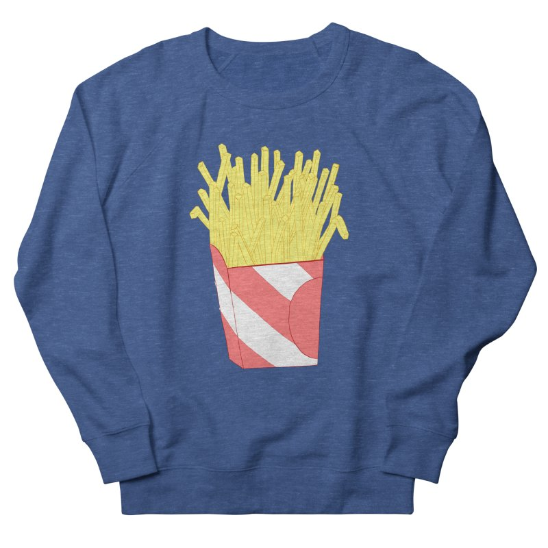 Fries Men's French Terry Sweatshirt by Hello Siyi