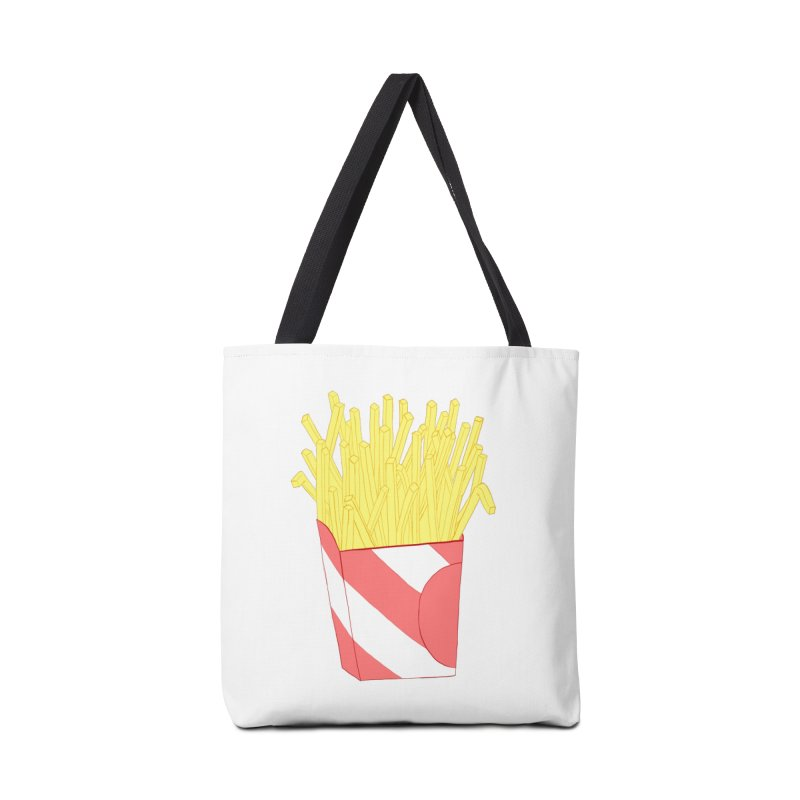 Fries Accessories Tote Bag Bag by Hello Siyi