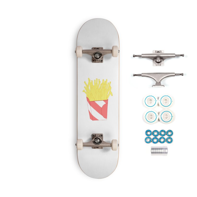 Fries Accessories Skateboard by Hello Siyi