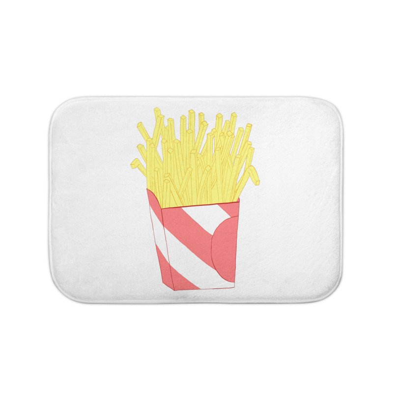 Fries Home Bath Mat by Hello Siyi