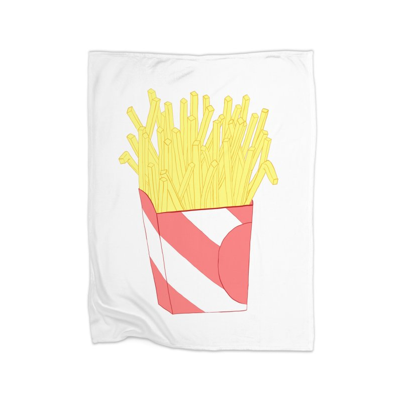 Fries Home Blanket by Hello Siyi