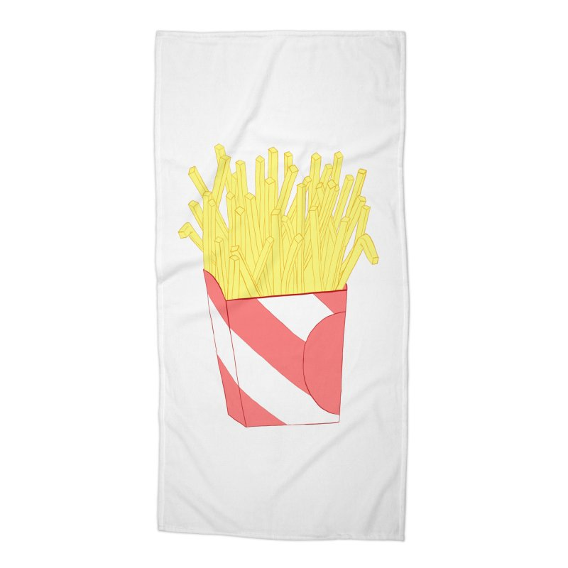 Fries Accessories Beach Towel by Hello Siyi
